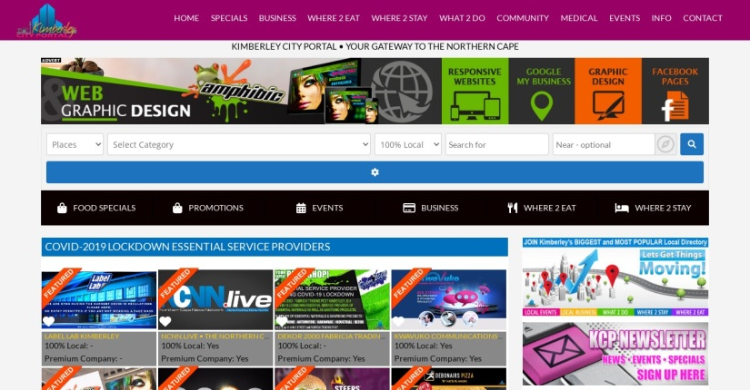 The Kimberley City Portal