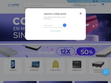 Tienda online de Supermercado La Anónima Online