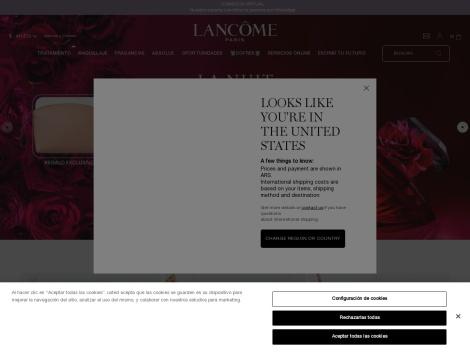 Tienda online de Lancome Argentina