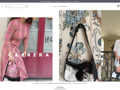 Tienda online de Las Cabrera