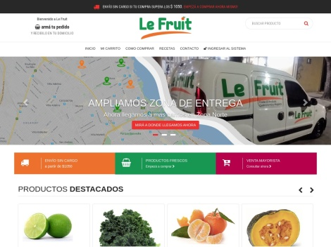Tienda online de Le Fruit