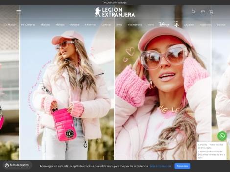 Tienda online de Legión Extranjera | Bolsos y Mochilas