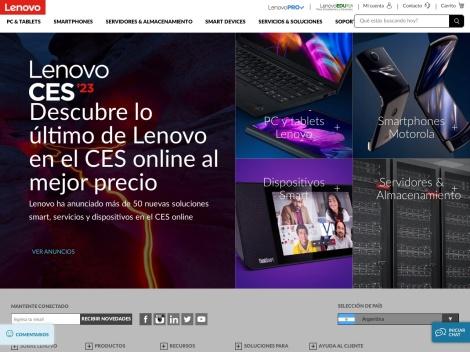 Tienda online de Tienda Lenovo Argentina