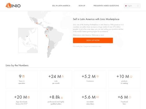 Tienda online de Linio Argentina
