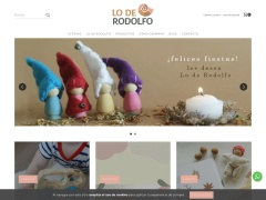 Venta online de Jugueterias online de Argentina en Lo de Rodolfo | Juguetes Waldorf