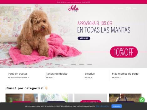 Tienda online de Los Diseño de Lola