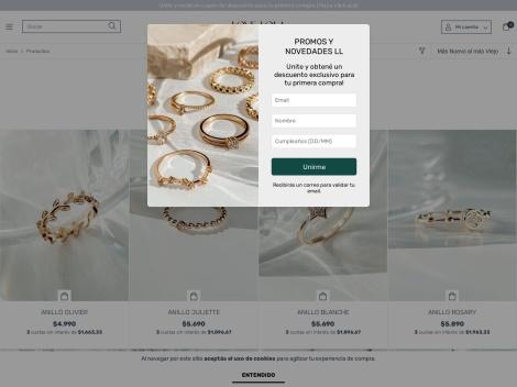 """Tienda online de Bijouterie """"Love Lola"""""""