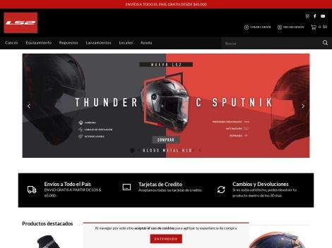 Tienda online de Cascos y Ropa para Motos @ LS2 Argentina