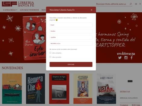 Tienda online de Santa Fé LSF Librería Online
