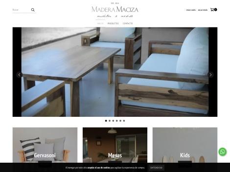 Tienda online de Muebles Madera Maciza
