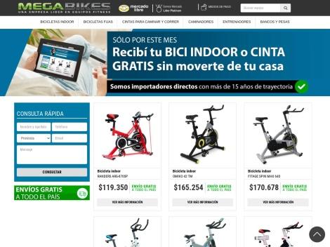 Tienda online de Mega Bikes