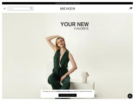 Tienda online de Meiken