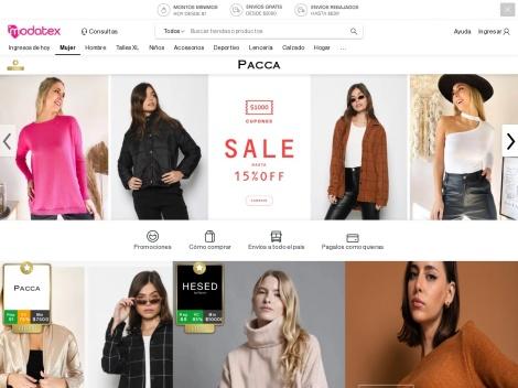 Tienda online de MODATEX (Tienda Online Mayorista)