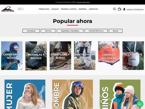 Tienda online de Tienda Montagne Outdoors Argentina