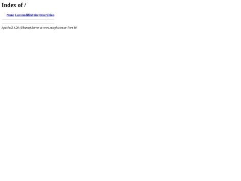 Tienda online de Morph | Tienda de Diseño