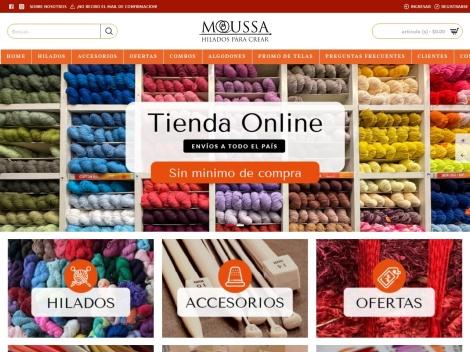 Tienda online de Moussa Lanas