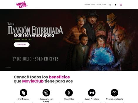 Tienda online de Movie Club Argentina
