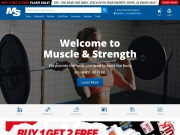 Muscle & Strength Coupon and Deals for May 2017