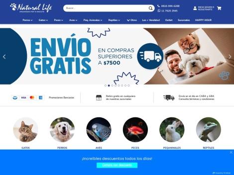 Tienda online de Natural Life ✅