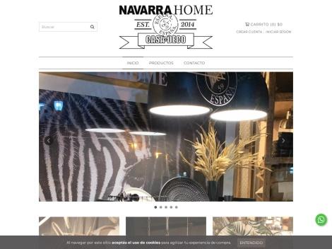 Tienda online de Navarra Home