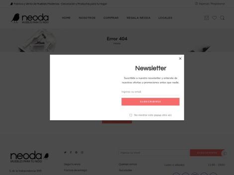 Tienda online de Neoda Muebles