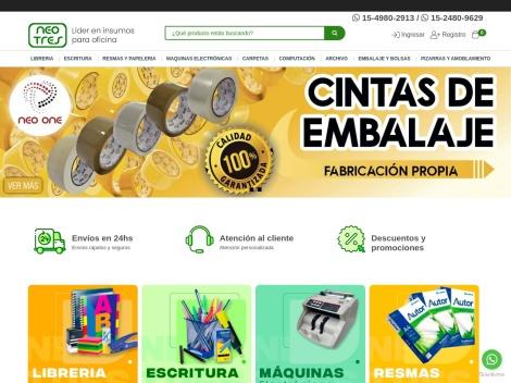 Tienda online de NeoTres