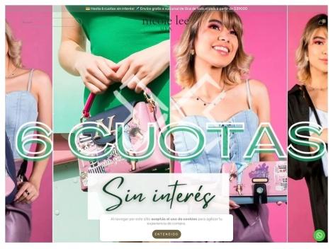 Tienda online de Carteras Nicole Lee