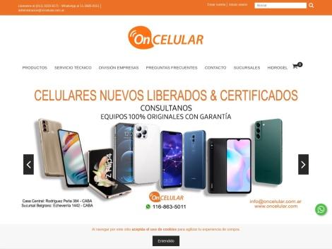 Tienda online de Tienda On Celular