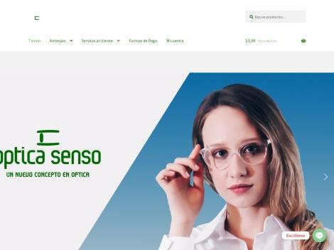 Tienda online de Optica Senso