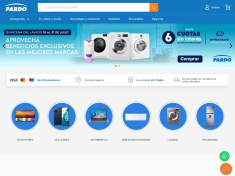 Tienda online de Pardo Hogar