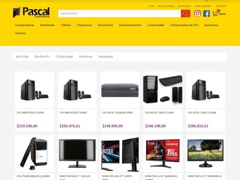 Tienda online de Pascal Computadoras