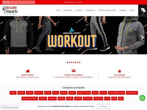 Tienda online de Pasión al Deporte [eShop de Deportes]