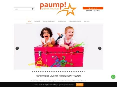 Tienda online de Paump Objetos