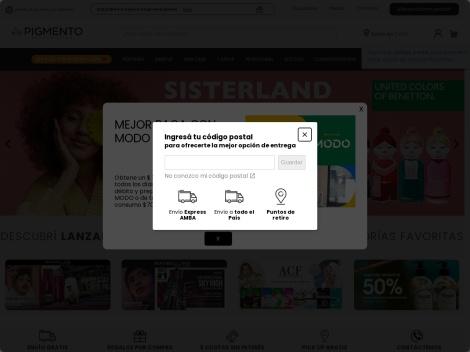 Tienda online de Perfumerias Pigmento