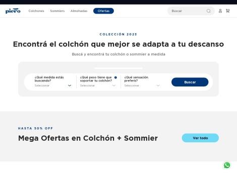Tienda online de Colchones Piero Digital