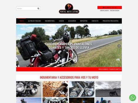 Tienda online de Portal Moto Latino