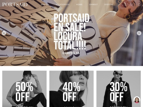 Tienda online de Portsaid Argentina