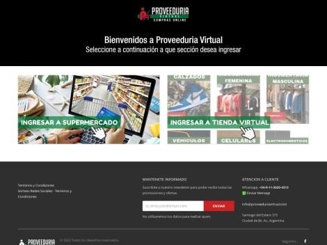 Tienda online de La Proveeduria Virtual