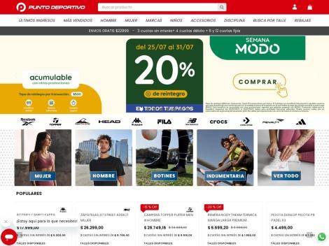 Tienda online de Punto Deportivo