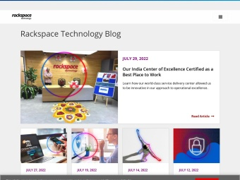 The Official Rackspace Blog