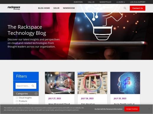 The Official Rackspace Blog