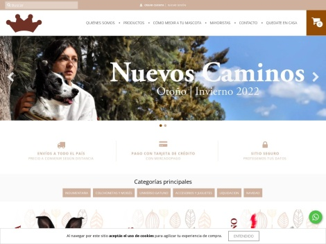 Tienda online de Reyes & Reinas