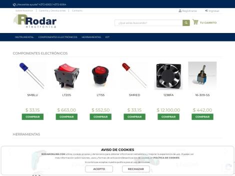 Tienda online de Rodar Electrónica