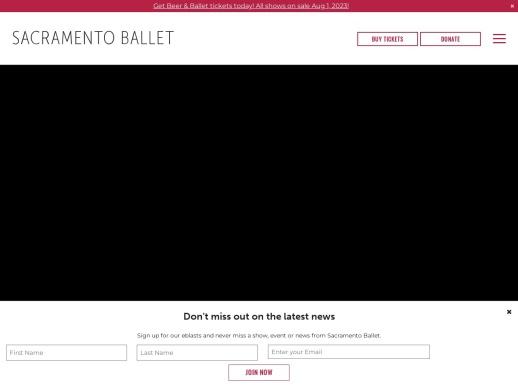 The Sacramento Ballet