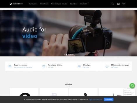 Tienda online de Auriculares Sennheiser Argentina