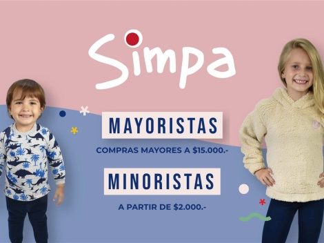 Tienda online de Simpa Kids (Mayorista) ✅