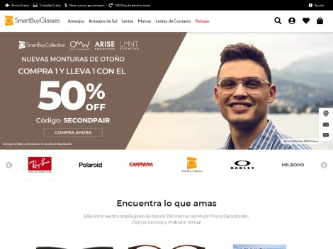 Tienda online de Smart Buy Glasses Argentina