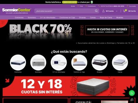 Tienda online de Sommier Center (Colchones)