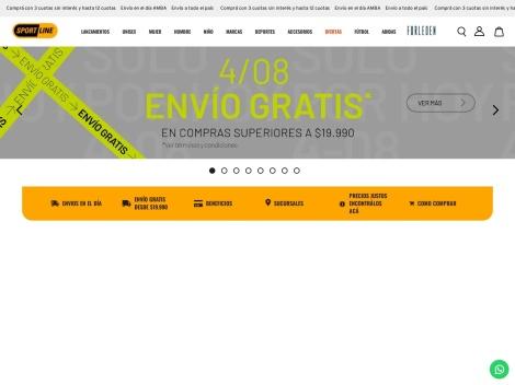 Tienda online de Sportline