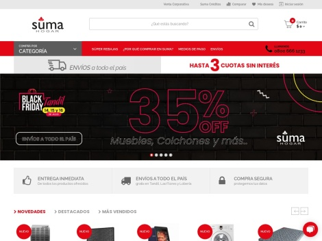 Tienda online de Suma Hogar
